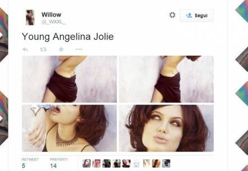 Angelina Jolie, foto sexy a 19 anni: ecco come non l'avete mai vista