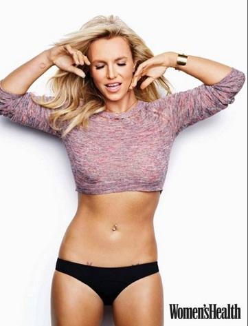 Britney Spears su Women's Health02