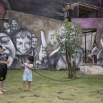 Buenos Aires, murales El Regreso de Quinquela7