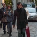 Pippo Inzaghi, shopping a via Montenapoleone02