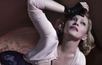 Madonna posa in topless sulla copertina di Interview FOTO
