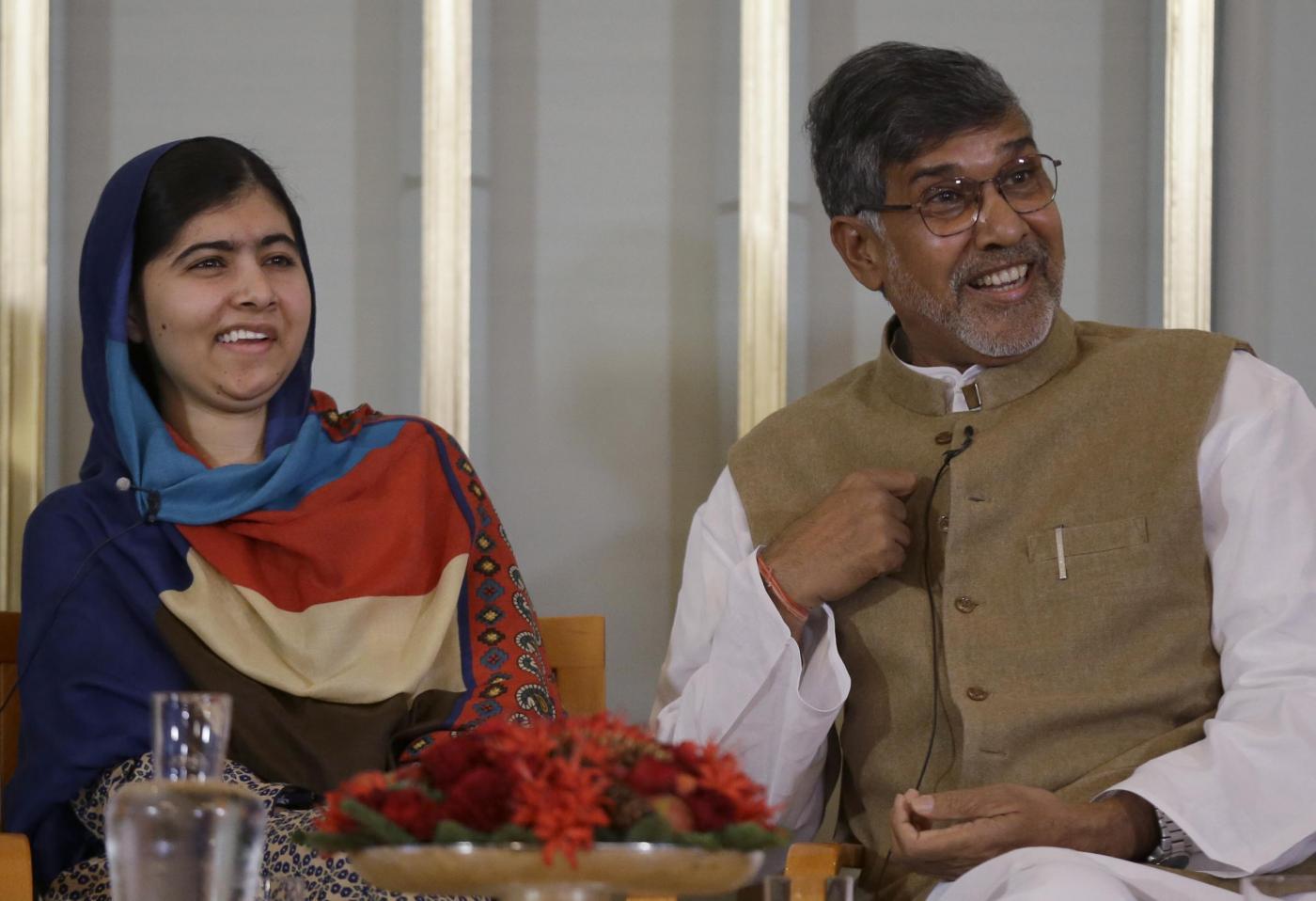 Nobel pace a Malala e Kailash, attivisti per diritti infanzia7