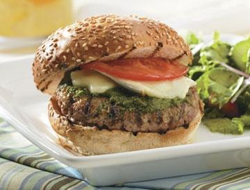 Genua Burger: panino col pesto campione del mondo