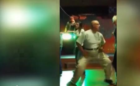 Il ballerino con qualche chilo di troppo è perfetto: la sua performance è virale