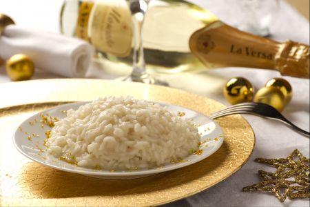 Ricette per Capodanno: risotto allo champagne