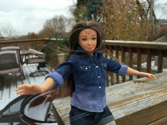 """La Barbie coi brufoli? Per Filippo Facci """"Una cessa"""""""