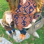 i selfie al pancione che cresce con figlia accanto sono virali03