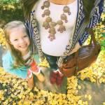 i selfie al pancione che cresce con figlia accanto sono virali02