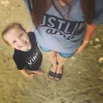 i selfie al pancione che cresce con figlia accanto sono virali11