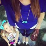 i selfie al pancione che cresce con figlia accanto sono virali07