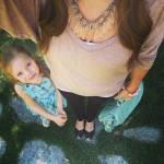 i selfie al pancione che cresce con figlia accanto sono virali06
