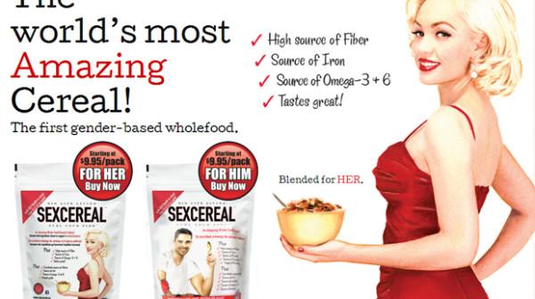 """SexCereal"", per una colazione afrodisiaca per lui e per lei"