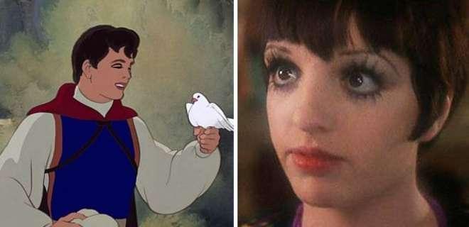 Liza Minelli giovane, uguale al principe azzurro di Biancaneve FOTO04