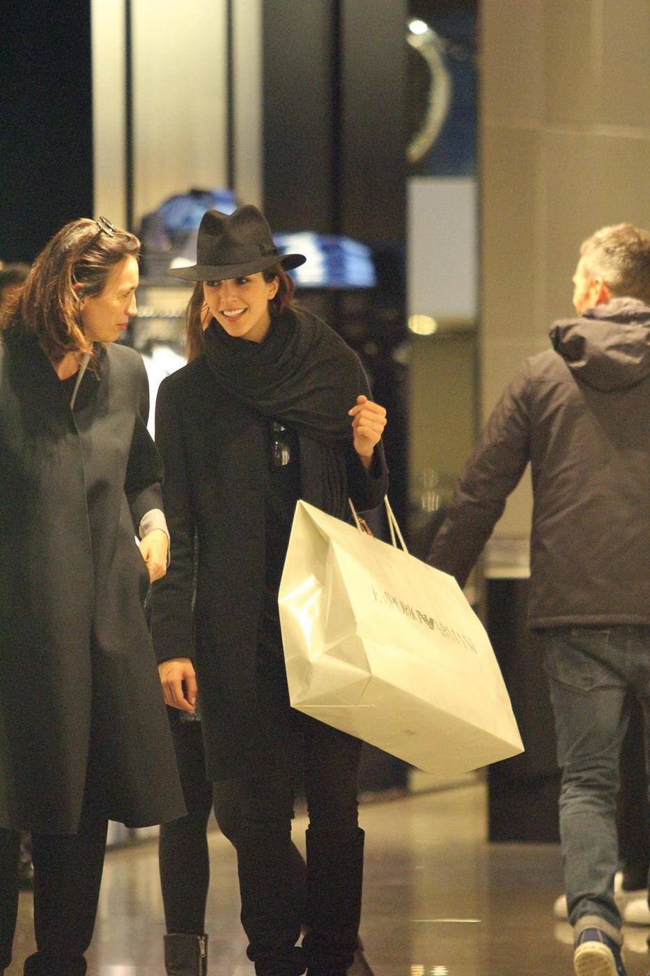 Rocio Munoz Morales, lo shopping prima di Sanremo 019