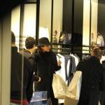 Rocio Munoz Morales, lo shopping prima di Sanremo 09