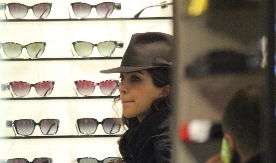 Rocio Munoz Morales fa shopping per Sanremo