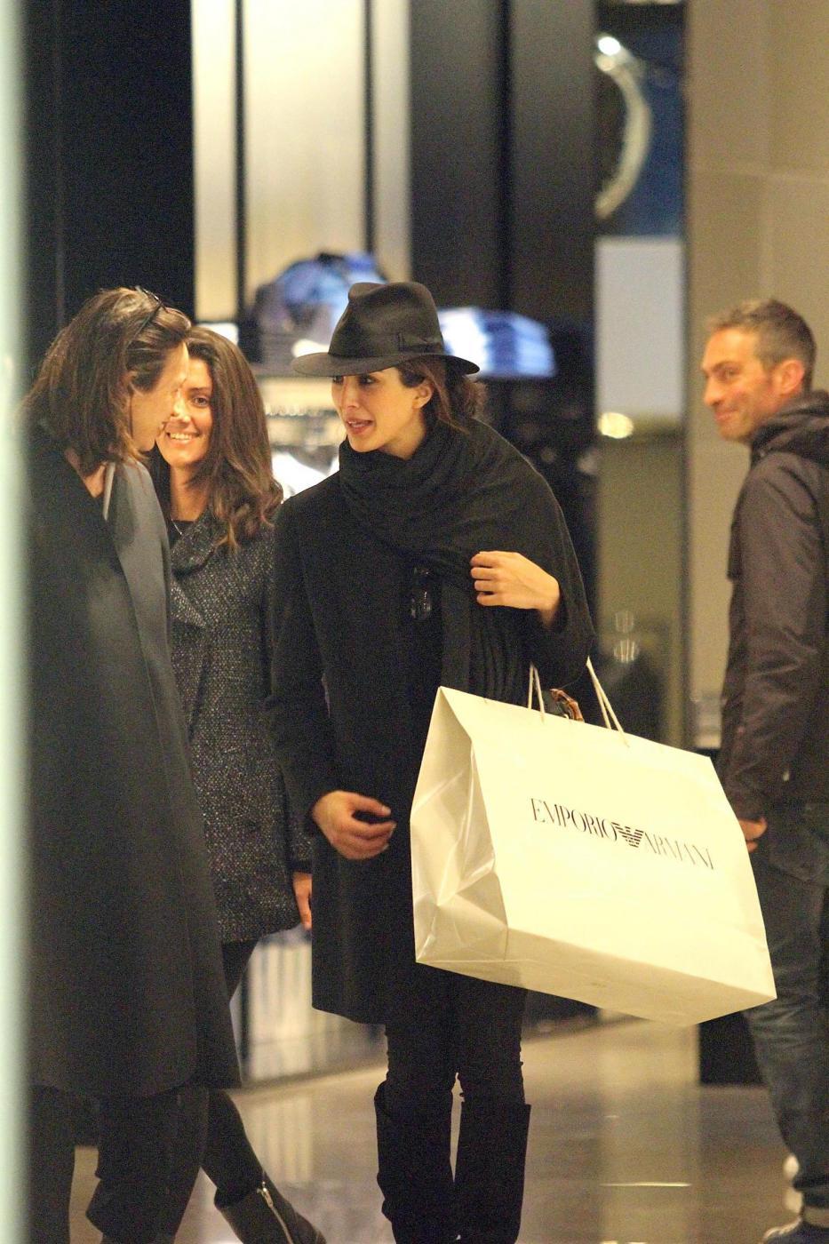 Rocio Munoz Morales, lo shopping prima di Sanremo 07