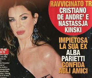 """Alba Parietti a Nastassja Kinski, Cristiano De Andrè? """"Glielo regalo volentieri"""""""