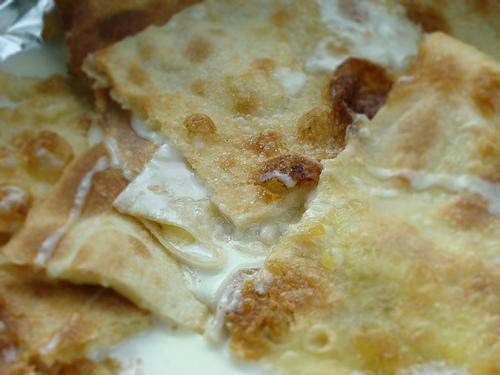 Focaccia di Recco con formaggio riconosciuta come Igp dall'Ue
