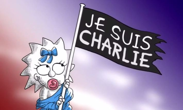 Charlie Hebdo, arriva anche il tributo dei Simpson VIDEO