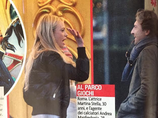 Martina Stella e Andrea Manfredonia: è amore?