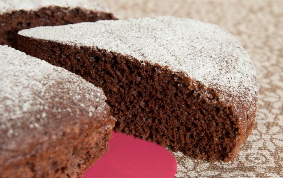 Ricette di dolci: torta light al cioccolato