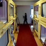 """Cina, gli """"appartamenti-capsula"""" in cui vivono gli studenti FOTO01"""