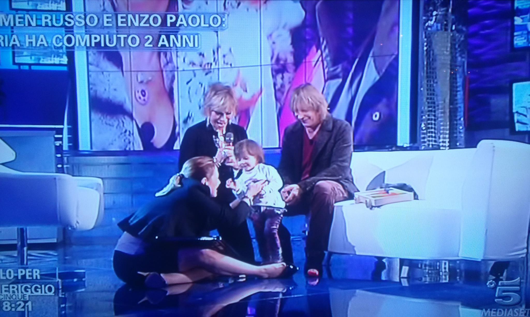 Carmen Russo, Enzo Paolo: figlia Maria compie 2 anni FOTO