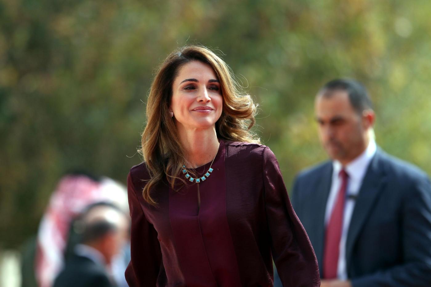 Rania di Giordania al Women in the World Summit 2015 FOTO