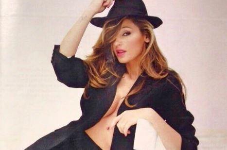 Anna Tatangelo hot, topless sfiorato su Chi FOTO