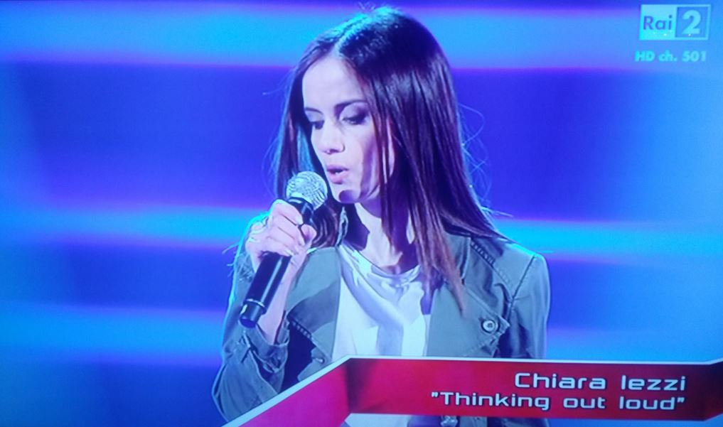 The Voice, VIDEO Chiara Iezzi alle blind audition