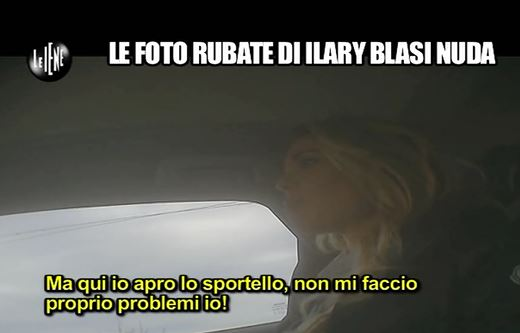 Le Iene, Ilary Blasi fa pipì tra le galline VIDEO   Ladyblitz