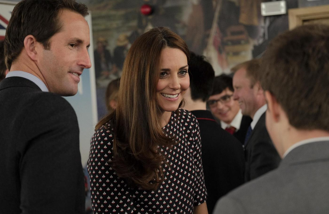 Kate Middleton torna dai Caraibi abbronzata e con un bel pancione 04
