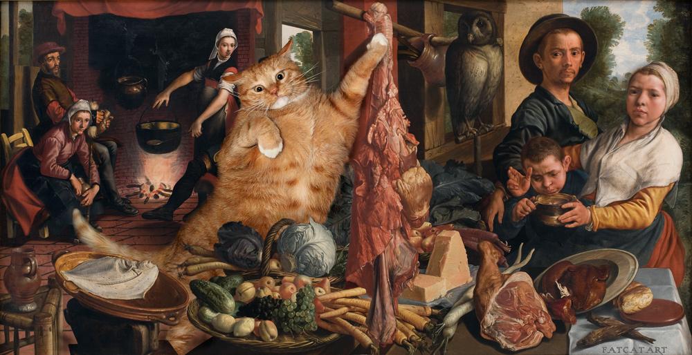 Aertsen-Fat-Kitchen-cat-w