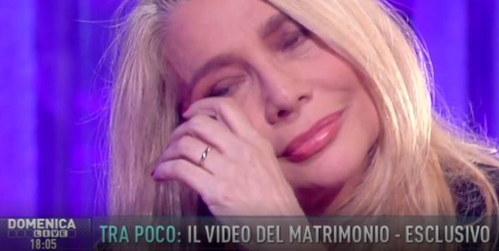 VIDEO Mara Venier a Domenica Live tra lacrime e sorrisi