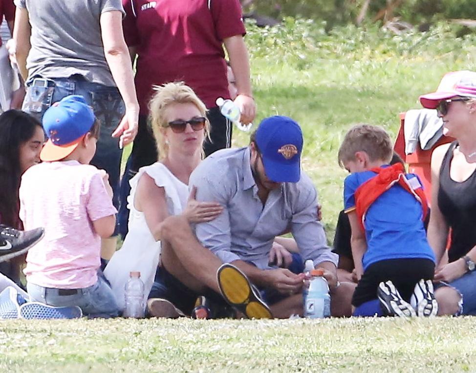 Britney Spears col fidanzato Charlie Ebersol