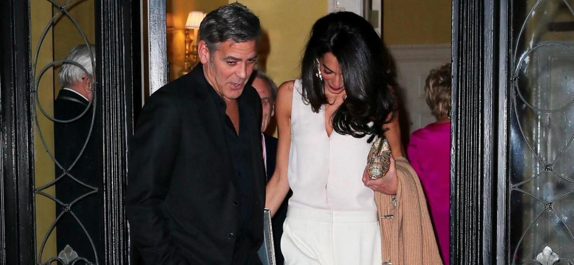 Geroge Clooney e Amal elegantissimi a New York12