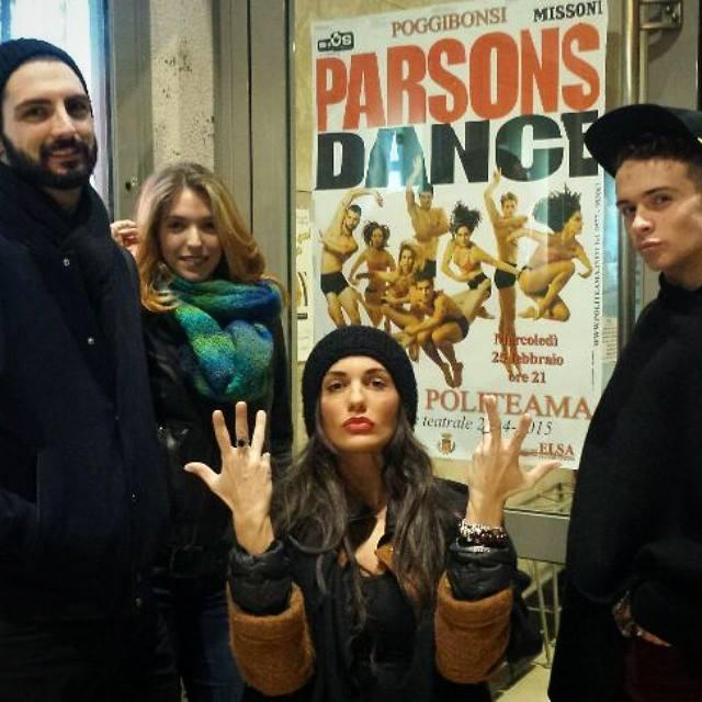 """Elena D'Amario: """"Grazie ad Amici ballo con David Parsons"""" 10"""