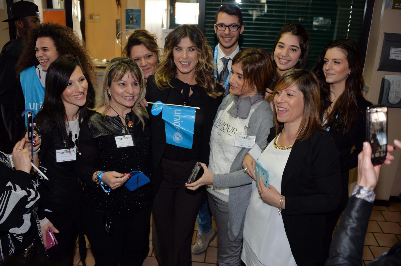 Elisabetta Canalis ambasciatore dell'Unicef 03