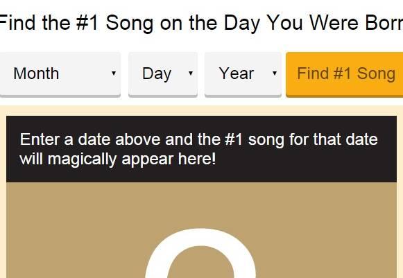 Qual è la canzone più ascoltata nel giorno in cui sei nato? Ecco come scoprirlo