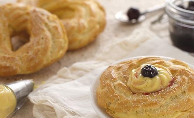 Ricette di dolci: bignè di San Giuseppe al forno