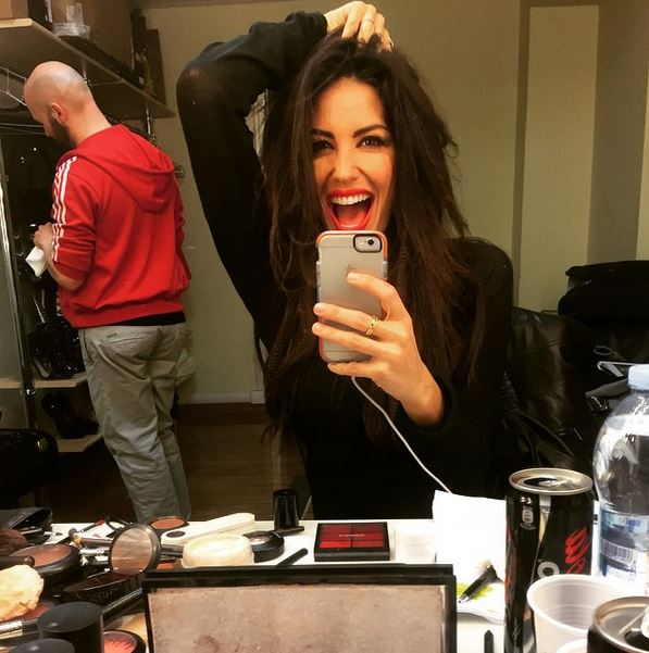 Elisabetta Gregoraci, selfie da urlo dietro quinte Made in Sud FOTO 3