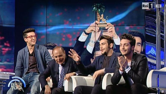 VIDEO Il Volo a Porta a Porta. Il trio si racconta tra sorrisi e musica