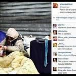 Style editor Vogue pubblica foto senzatetto che legge rivista: è polemica