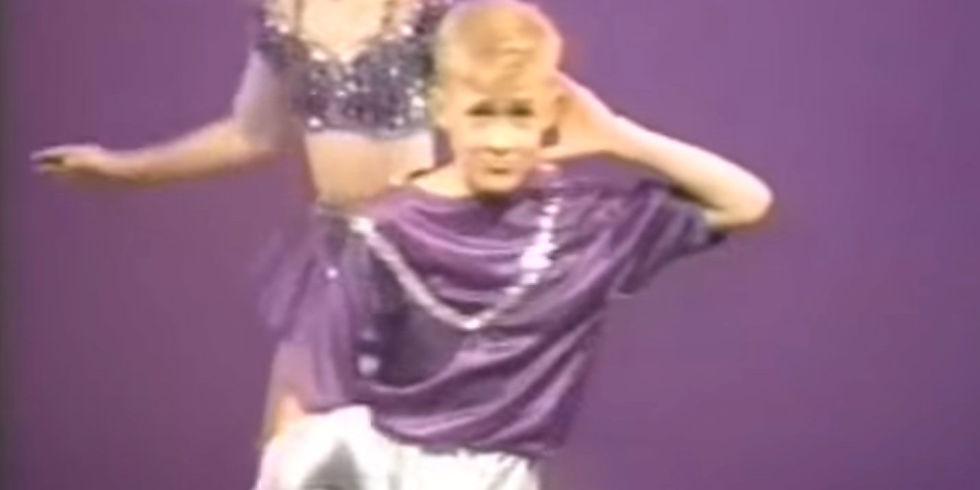 Ryan Gosling ballerino scatenato a 12 anni VIDEO