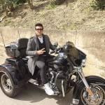 Il Volo, Ignazio Boschetto e Piero Barone a bordo della Harley-Davidson FOTO