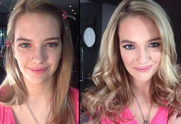 Pornostar prima e dopo il trucco FOTO: ecco come cambiano