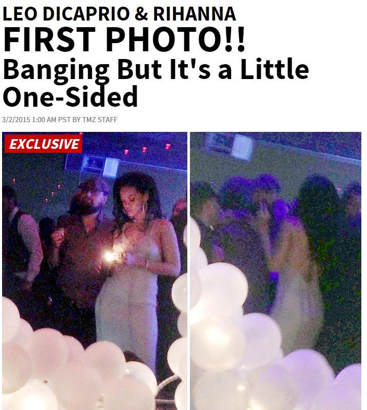 Leonardo DiCaprio e Rihanna, prima FOTO insieme