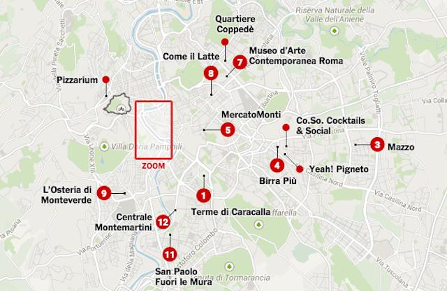 Visitare Roma in 36 ore e in 13 tappe: guida del New York Times