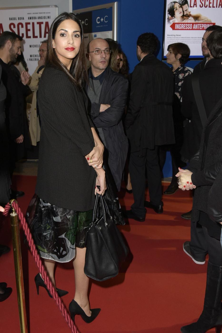 """Raoul Bova e Rocio Munoz Morales innamorati alla prima di """"La scelta"""" FOTO07"""